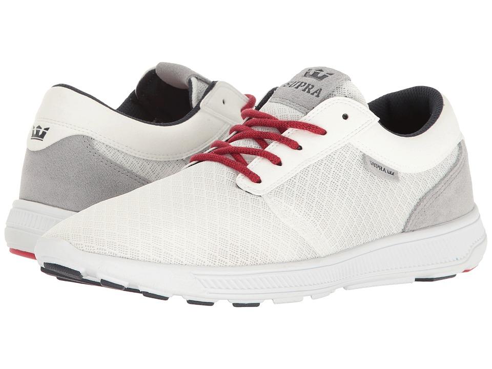 Supra Hammer Run (White/Red/White) Men