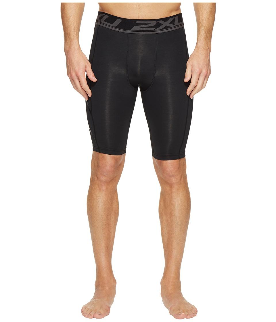 Image of 2XU - Accelerate Compression Shorts (Black/Nero) Men's Shorts