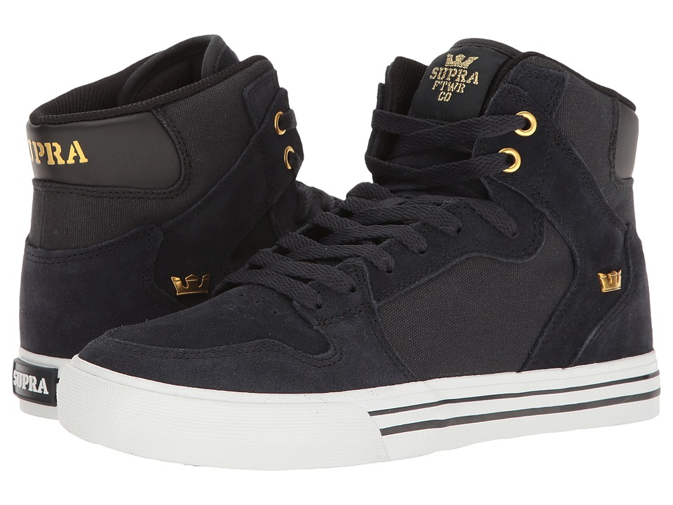 Supra Vaider (Midnight/White) Skate Shoes