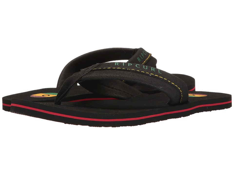 Rip Curl Mavs (Black/Rasta) Men's Sandals