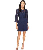 Laundry by Shelli Segal - Belle Sleeve Stretch Lace Dress