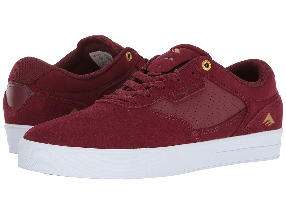 Emerica Empire G6 (Burgundy/White) Men