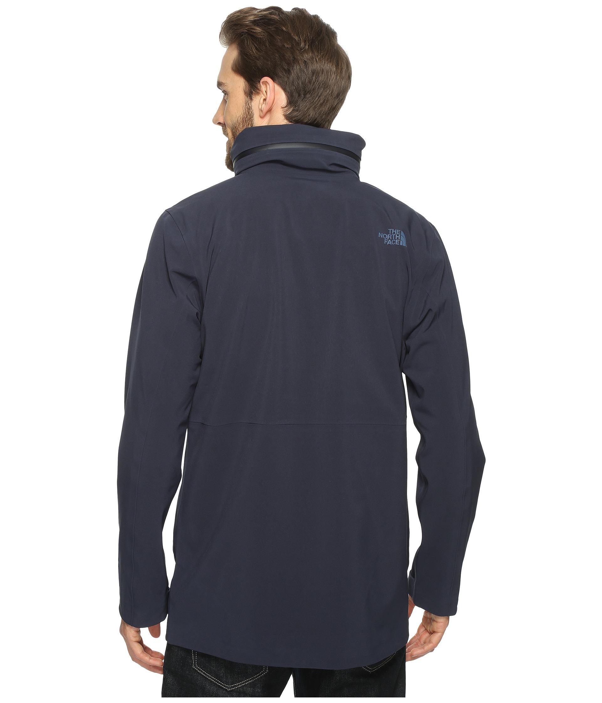 north face gore tex jacket with fleece collar
