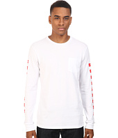 HUF - HUF x Chocolate Checkered Long Sleeve Pocket Tee