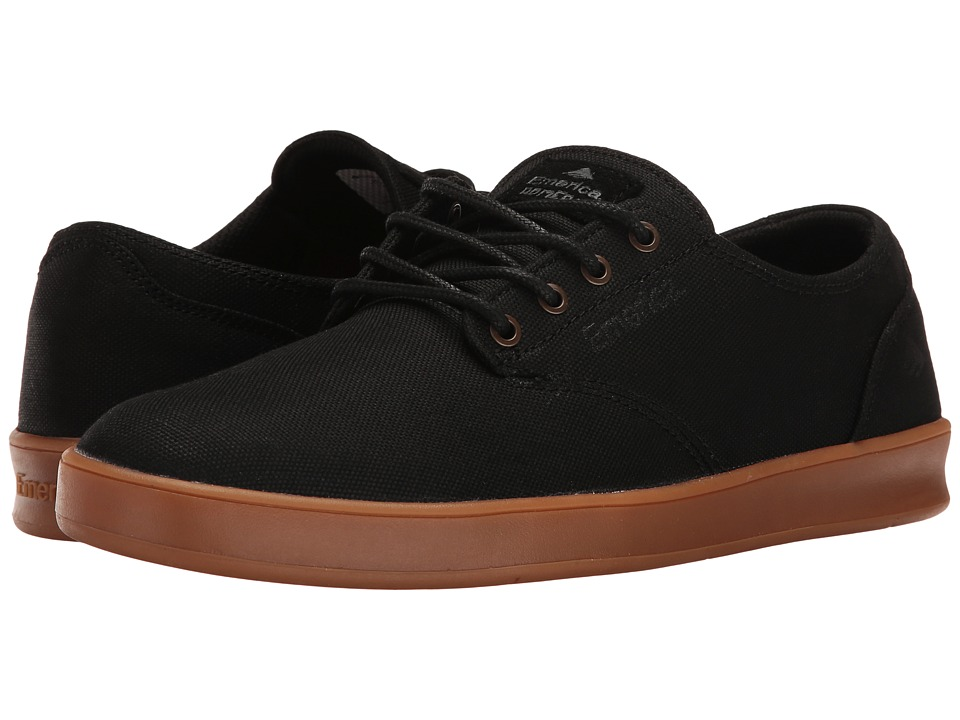 Emerica The Romero Laced (Black/Grey/Gum) Men