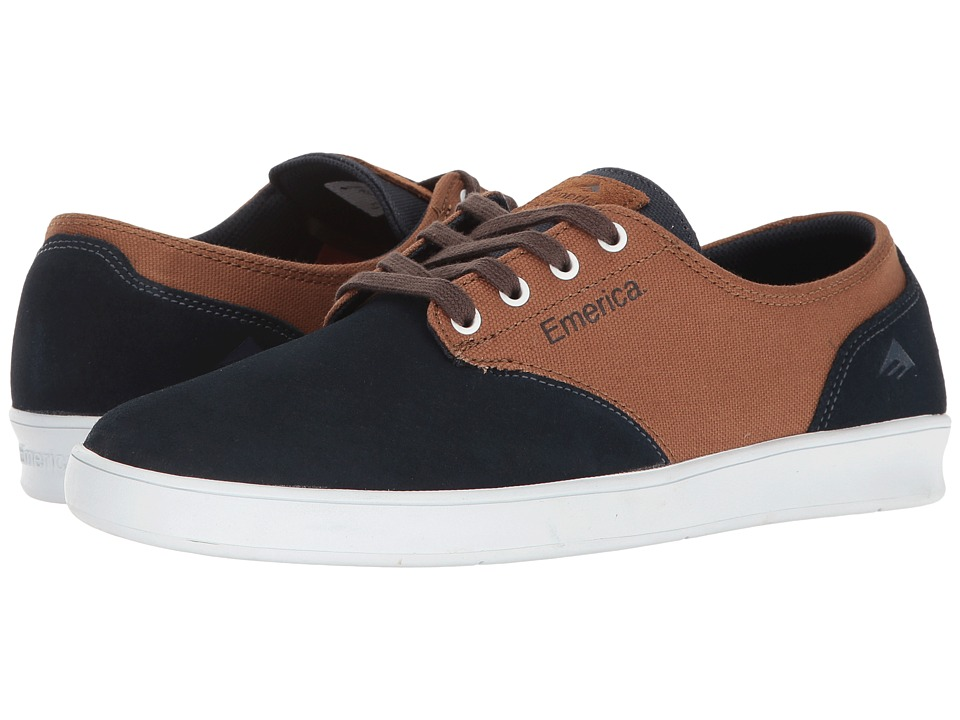 Emerica The Romero Laced (Navy/Brown/White) Men