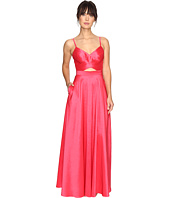Laundry by Shelli Segal - Taffeta Gown w/ Open Back