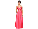 Taffeta Gown w/ Open Back
