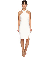 Laundry by Shelli Segal - Cross Front Matte Jersey Dress