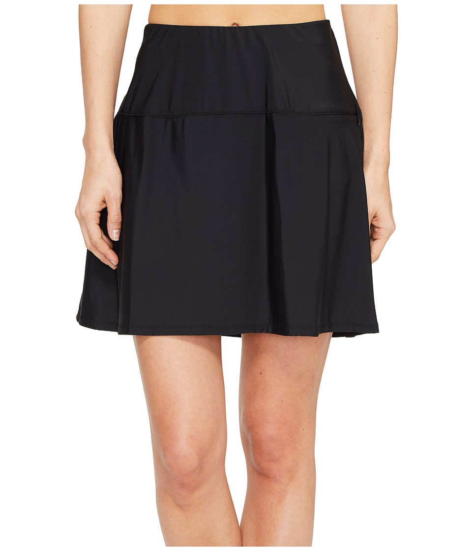 Miraclesuit Separate Fit and Flair Skirt Bottom (Black)