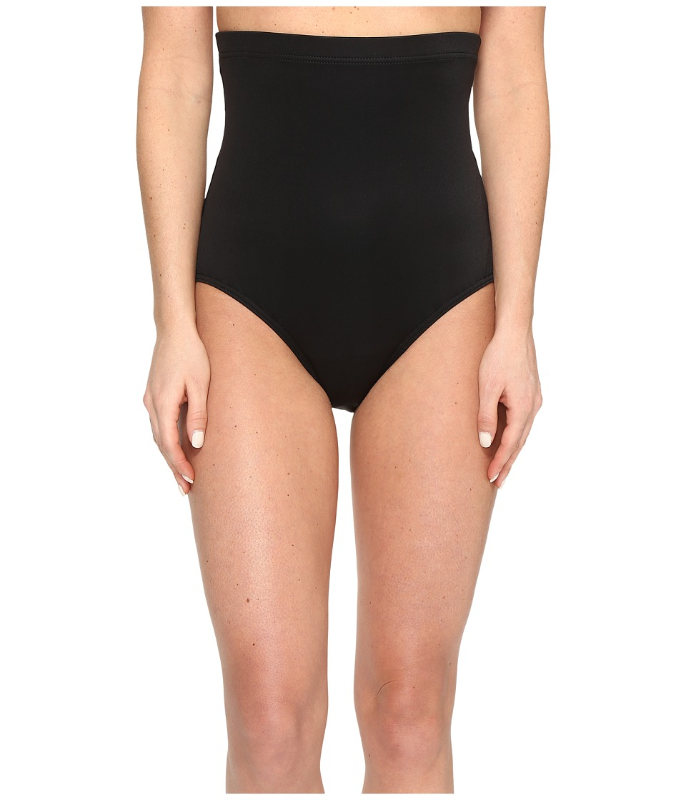 Miraclesuit Separate Super High Waist Pants Bottom (Black) Women