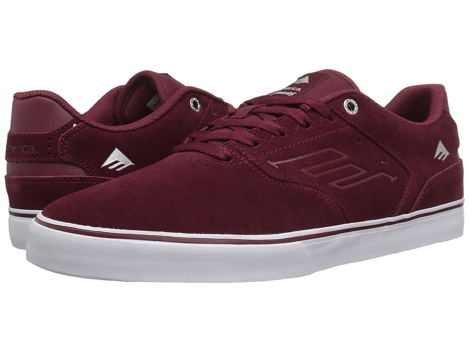 Emerica The Reynolds Low Vulc (Red/White/Gum) Men