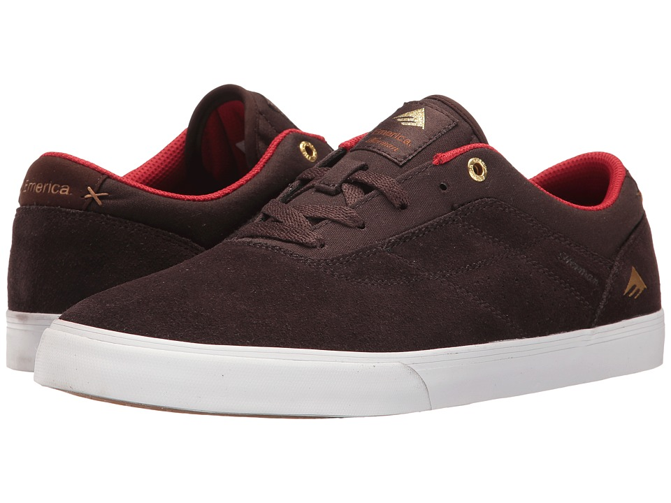 Emerica The Herman G6 Vulc (Brown/White) Men