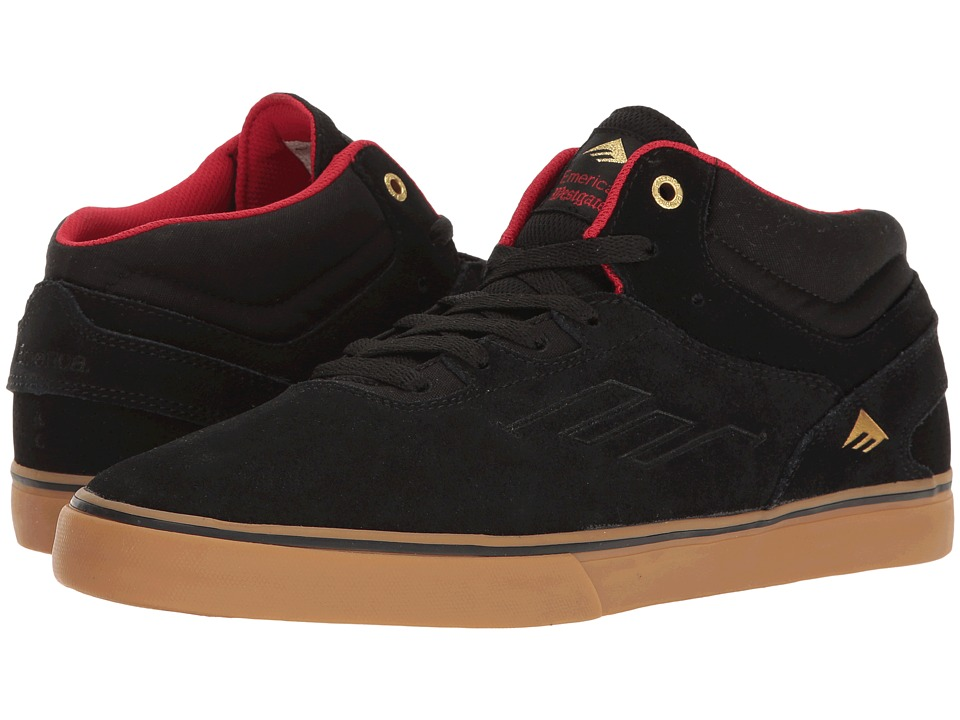 Emerica The Westgate Mid Vulc (Black/Gum) Men