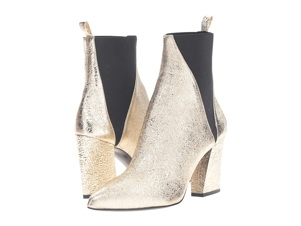 Image of ASKA - Troy (Crackle Gold) Women's Boots