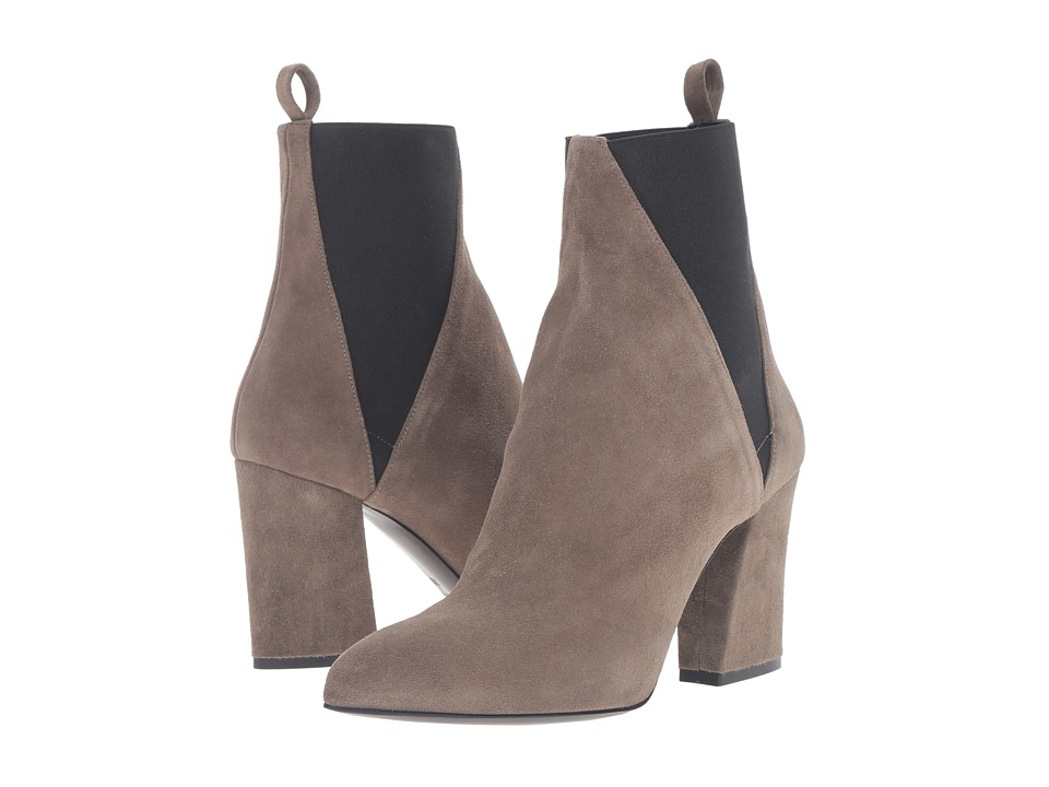 Image of ASKA - Troy (Khaki Suede) Women's Boots