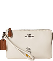 COACH - Box Program Mickey Corner Zip