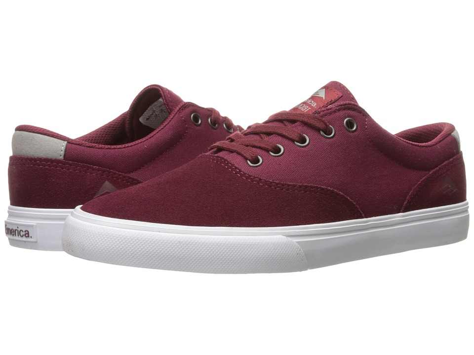 Emerica The Provost Slim Vulc (Burgundy) Men