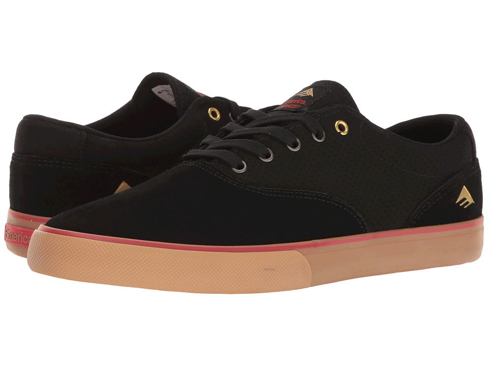 Emerica The Provost Slim Vulc (Black/Gum) Men