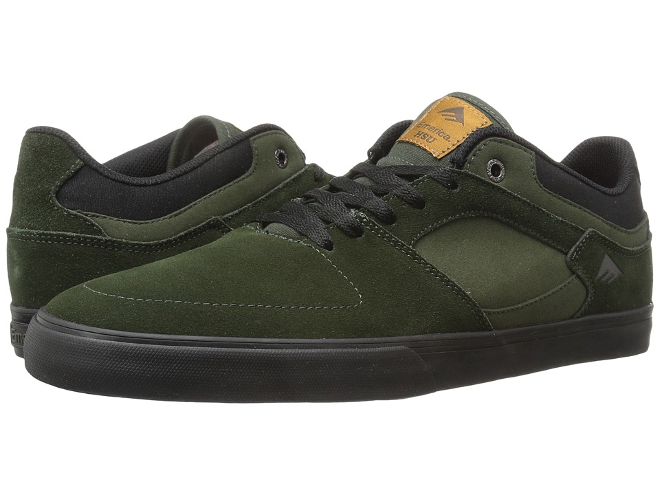 Emerica The Hsu Low Vulc (Green/Black) Men