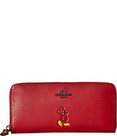 COACH - Box Program Mickey Slim Accordian Zip