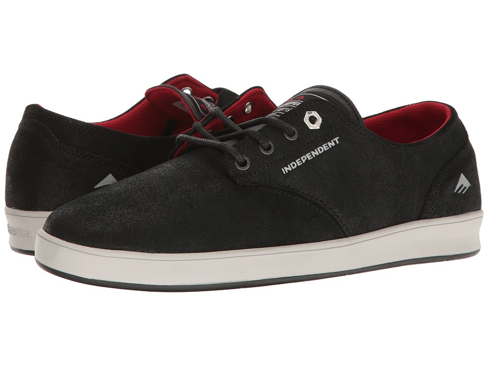 Emerica Romero Laced X Indy (Black/Grey/Black) Men