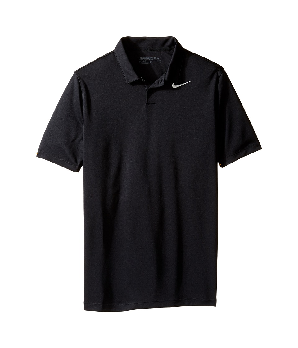 Nike Kids - Victory Polo (Big Kids) (Black/Flint Silver) Boys Short Sleeve Pullover