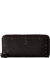 COACH - Box Program Daisy Rivets Slim Accordion Zip