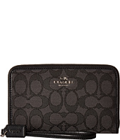 COACH - Box Program Signature Zip Organizer