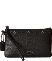 COACH - Box Program Daisy Rivets Small Wristlet