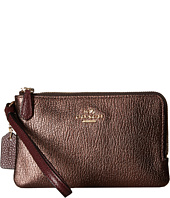 COACH - Color Block Double Corner Zip