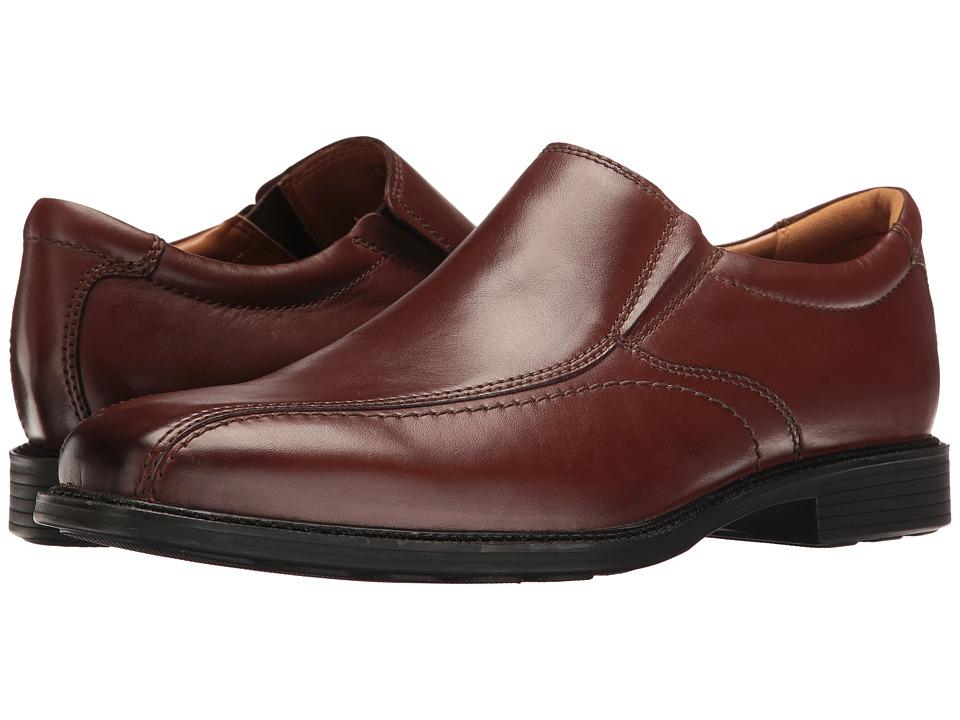 Bostonian Hazlet Step (Brown Leather) Men's Slip-on Dress...
