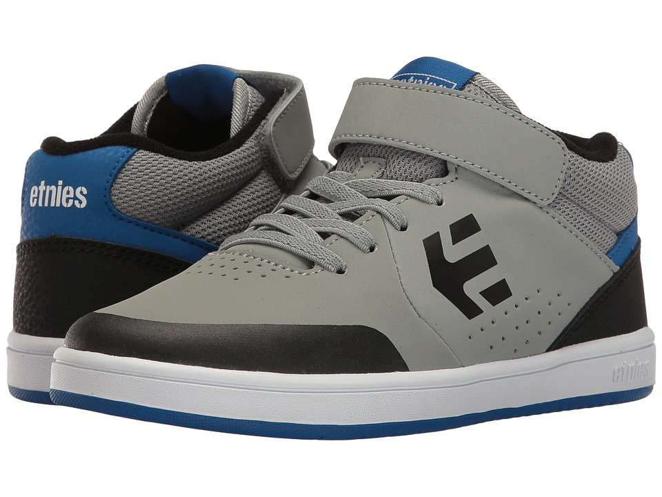 etnies Kids Marana MT (Toddler/Little Kid/Big Kid) (Grey/Black/Blue) Boys Shoes