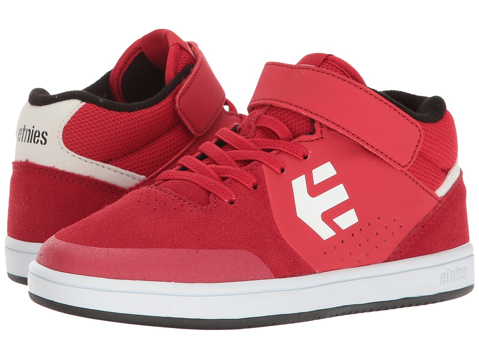 etnies Kids Marana MT (Toddler/Little Kid/Big Kid) (Red/White/Black) Boys Shoes