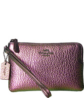 COACH - Box Program Hologram Corner Zip