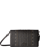 COACH - Bandana Rivets Fold-Over Crossbody