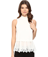 Rebecca Taylor - Terry Top with Lace