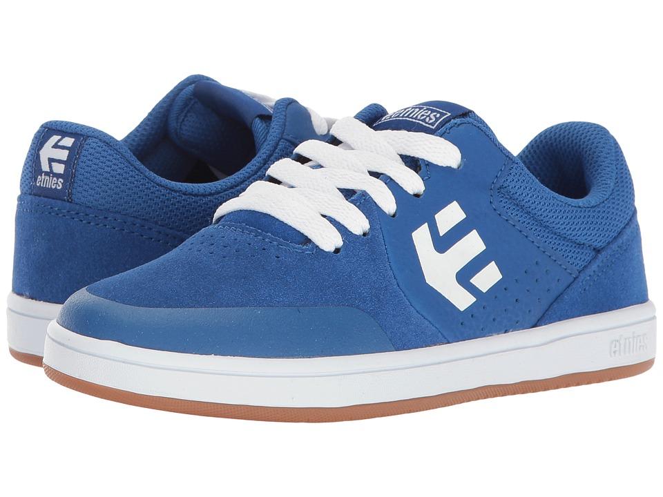 etnies Kids - Marana (Toddler/Little Kid/Big Kid) (Blue/White/Gum) Boys Shoes