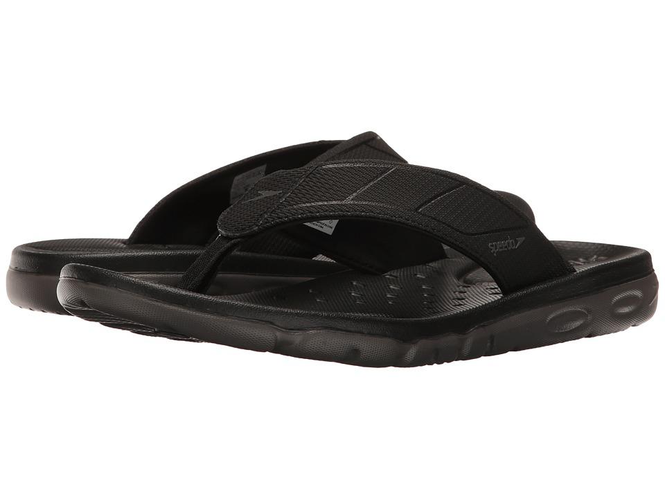 Speedo - On Deck Flip (Black/Grey) Men's Sandals