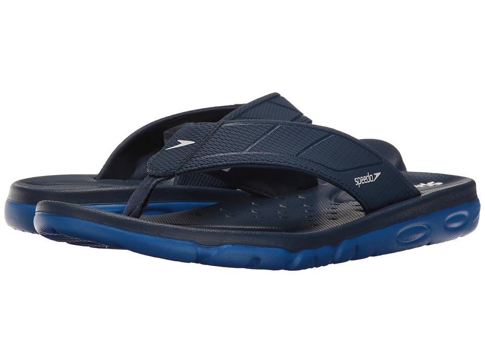 Speedo On Deck Flip (Insignia Blue/Imperial Blue) Men's S...
