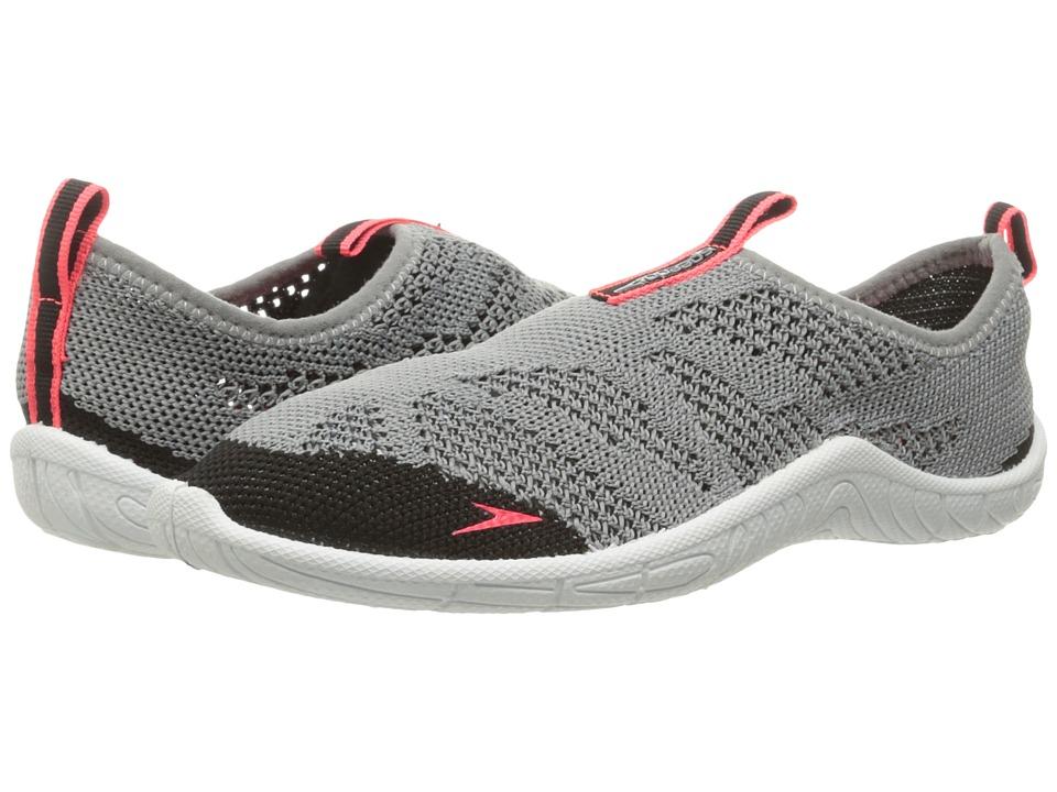 Speedo Surf Knit (Grey/Neon Pink) Women