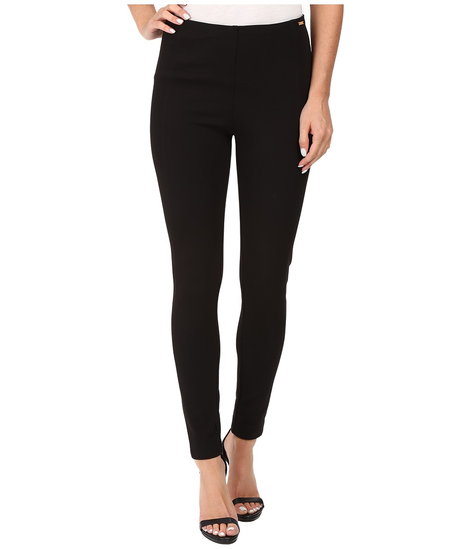 Ivanka Trump - Ponte Compression Pants (Black) Womens Casual Pants
