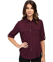 Ivanka Trump - Double Button Blouse