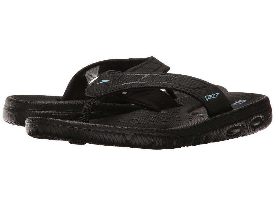 Speedo - On Deck Flip (Black/Black) Women's Sandals