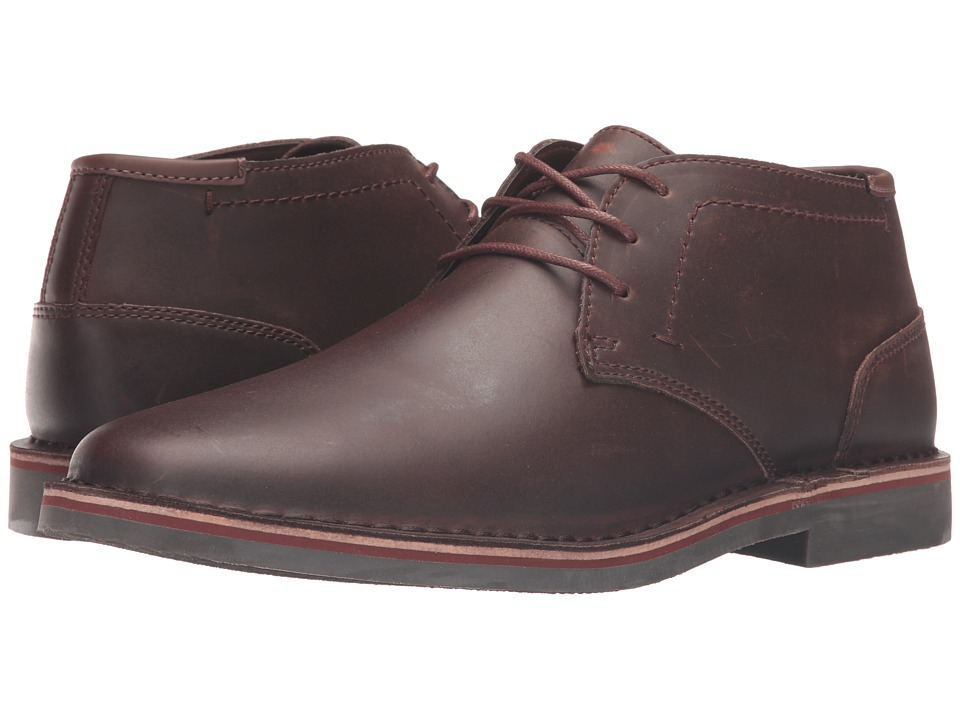 1950s Style Mens Shoes Kenneth Cole Reaction - Desert Sun Dark Brown Mens Lace-up Boots $98.00 AT vintagedancer.com