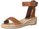 Woven Demi Wedge Open Toe Sandal