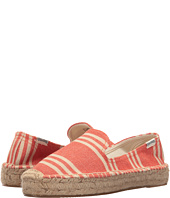 Soludos - Striped Platform Smoking Slipper