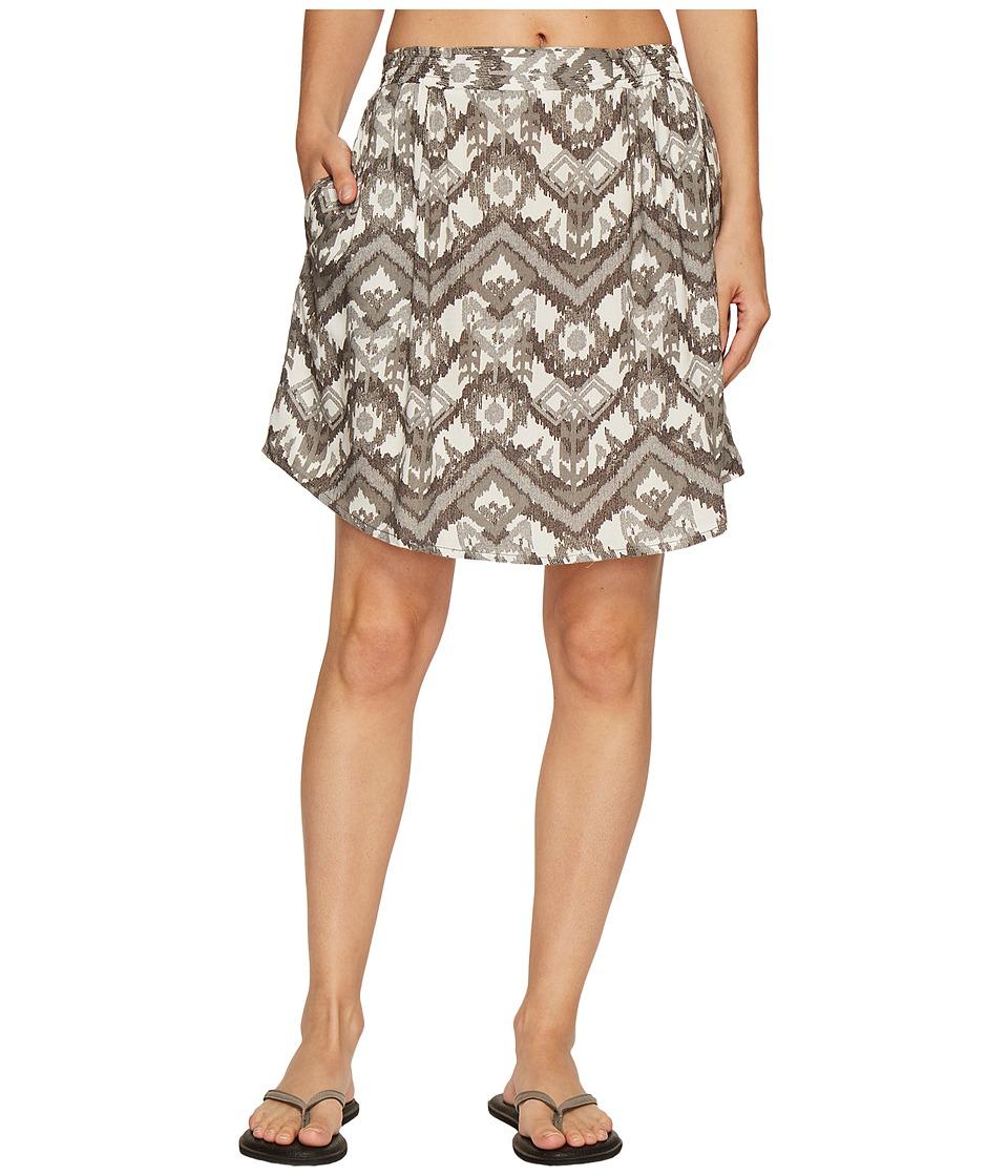 KAVU South Beach Skirt (Gret Ikat) Women