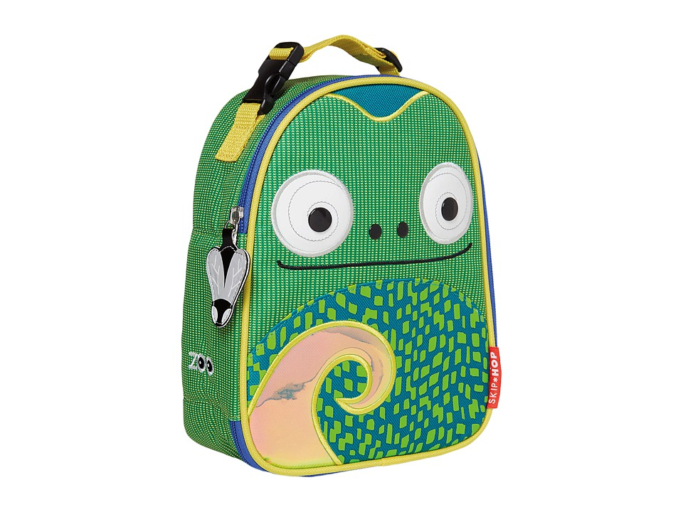 Skip Hop - Zoo Lunchies Insulated Lunch Bag (Chameleon) Handbags