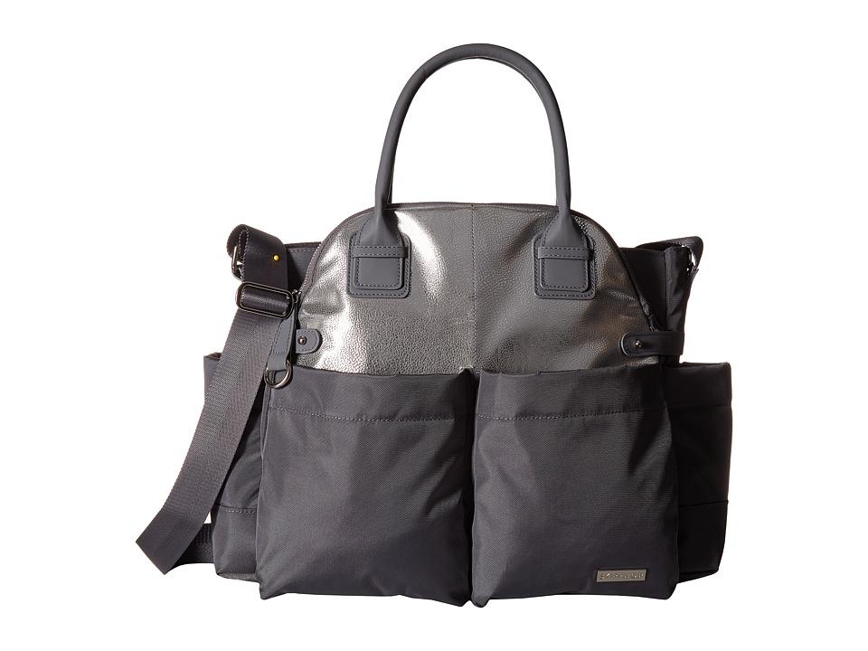 Skip Hop - Chelsea Diaper Satchel (Grey) Diaper Bags